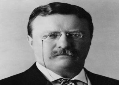 ولد رئيس الولايات المتحدة السادس والعشرون روزفلت Theodore Roosevelt