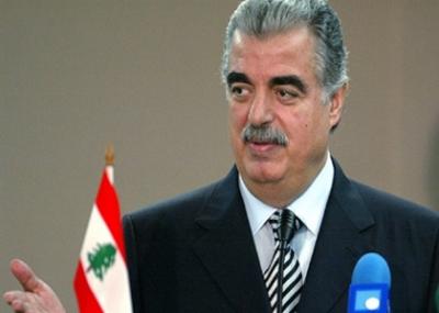رفيق الحريري يتولى رئاسة وزراء لبنان للمرة الأولى