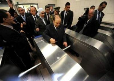 تدشين مترو الجزائر Metro Alger
