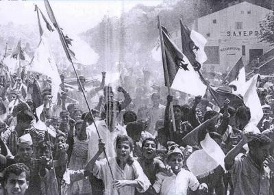 أندلاع ثورة التحرير الجزائرية
