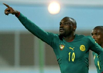 ولد لاعب كرة القدم الكاميروني باتريك مبوما Patrick M
