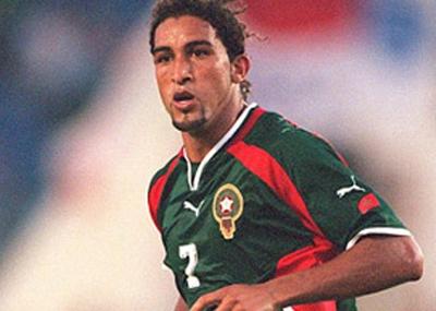 ولد لاعب كرة القدم المغربى مصطفى حجى Mustapha Hadji