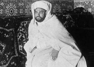 وفاة سلطان المغرب السلطان يوسف بن الحسن