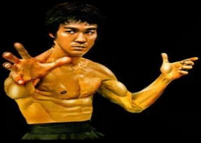 ولد الممثل وبطل الكونج فو بروس لي Bruce Lee