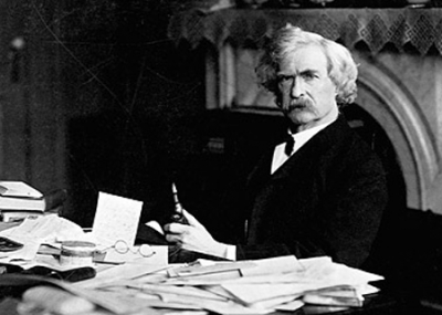 ولد الروائي الأمريكي مارك توين Mark Twain