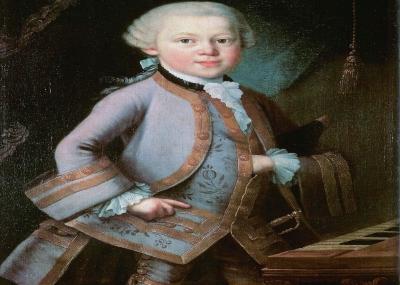 وفاه مؤلف الموسيقي النمساوي موزارت Wolfgang Amadeus Mozart