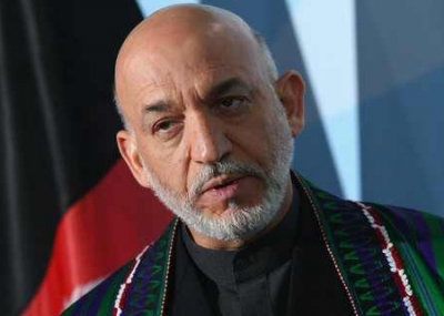 حامد قرضاي رئيسًا لأفغانستان