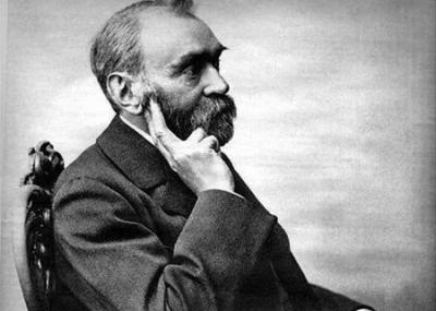 وفاة عالم الكيمياء السويدي ألفريد نوبل Alfred Nobel