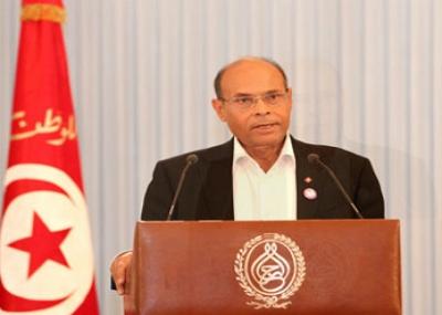 المنصف المرزوقي رئيساً مؤقتاً لتونس