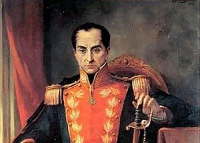 وفاه سيمون بوليفار Simón Bolívar رئيس جمهورية كولومبيا الكبرى