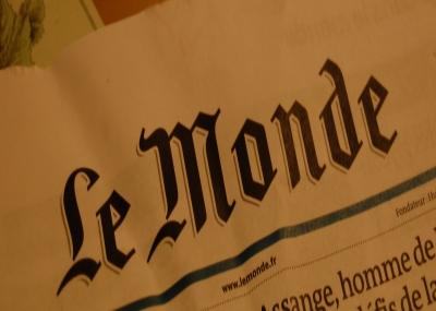 """أول عدد من الصحيفة الفرنسية """"لوموند Le Monde"""""""