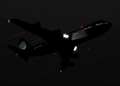 سقوط طائرة ركاب أميركية أثناء تحليقها فوق لوكربي Lockerbie