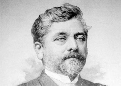 وفاه المهندس والمعماري الفرنسي غوستاف إيفل Alexandre Gustave Eiffel