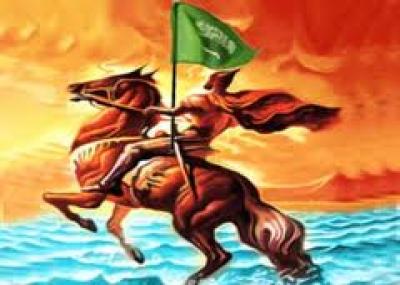 معركة الولجة بين الفرس والمسلمين بقيادة خالد بن الوليد