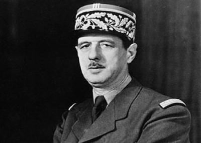 الجنرال شارل ديغول يتولى رئاسة فرنسا