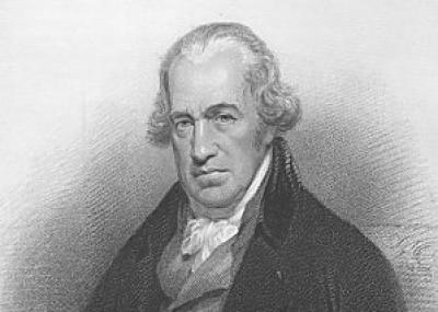 ولد مخترع المحرك البخاري جيمس واط James Watt