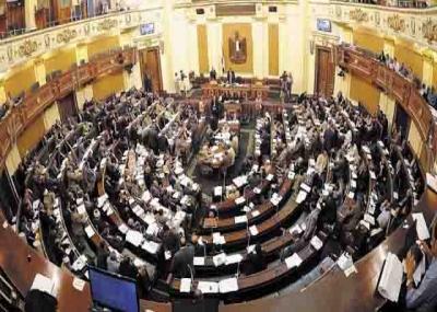 أولى جلسات مجلس الشعب المصري بعد ثورة 25 يناير