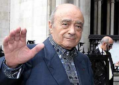 ولد الملياردير المصري محمد الفايد