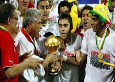 فوز المنتخب المصري ببطولة كأس الامم الافريقية 2010