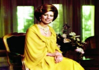 توفيت زوجة الملك حسين بن طلال الملكة علياء