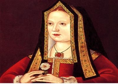 ولدت إليزابيث يورك زوجة هنري السابع Elizabeth of York
