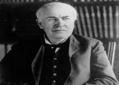 ولد المخترع الأمريكي توماس الفا إديسون Thomas Edison