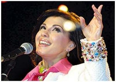 ولدت المغنية اللبنانية ماجدة الرومي