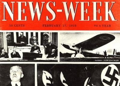 """صدور العدد الأول من المجلة الامريكية """"نيوزويك Newsweek"""""""