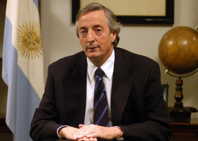ولد رئيس الأرجنتين السابق نيستور كيرشنير Néstor Kirchner