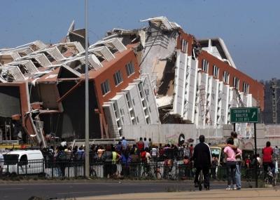 حدوث زلزال مدمر في تشيلي