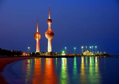 إفتتاح ابراج الكويت الثلاثة