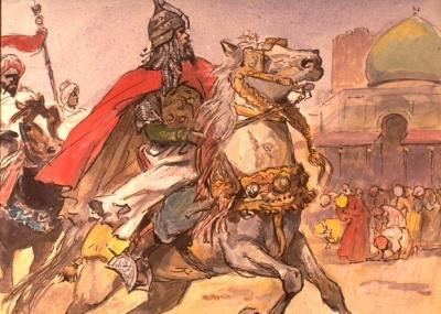 توفي القائد صلاح الدين الأيوبي