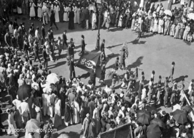 إشعال ثورة 1919 بقيادة سعد زغلول