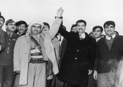 تم التوقيع على إتفاقية الحكم الذاتي للأكراد