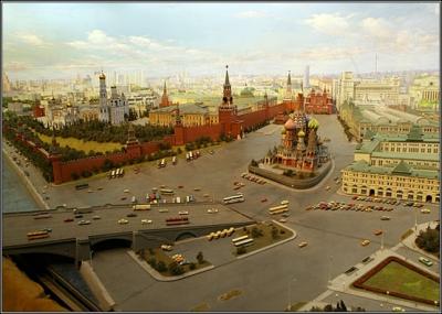 اصبحت موسكو عاصمة روسيا