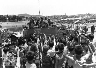 بدأ إحتلال جيش الدفاع الإسرائيلي للبنان