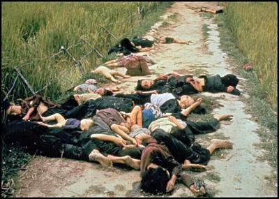 وقعت مجزرة في فيتنام سميت بمجزرة مي لاي