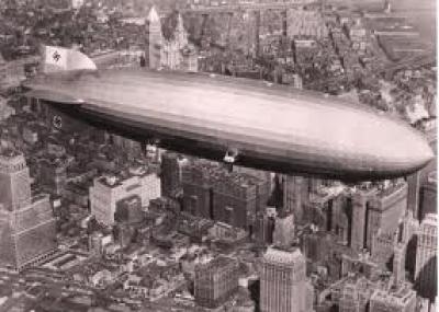 إنفجار منطاد هيندنبورغ Hindenburg