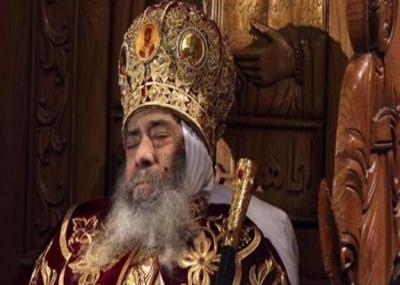 توفي بابا الإسكندرية البابا شنودة الثالث