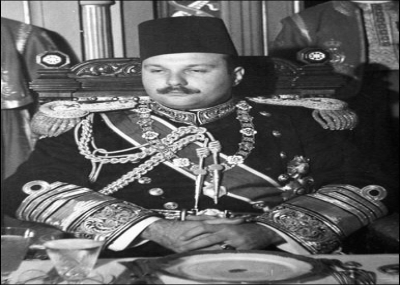 توفي ملك مصر الملك فاروق الأول
