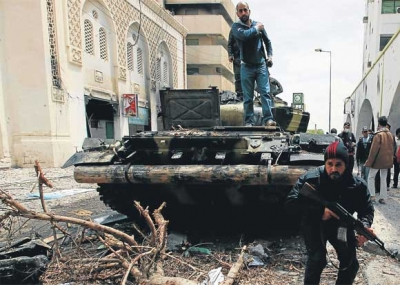 قيام معركة بنغازي في ليبيا