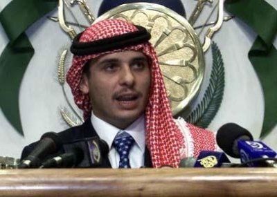 ولد ولي عهد المملكة الأردنية الأمير حمزة بن الحسين