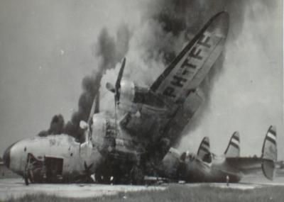 اول حادث إصطدام جوي للطيران المدني بفرنسا