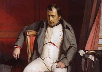 تخلي نابليون بونابرت الأول Napoléon Bonaparte I عن العرش