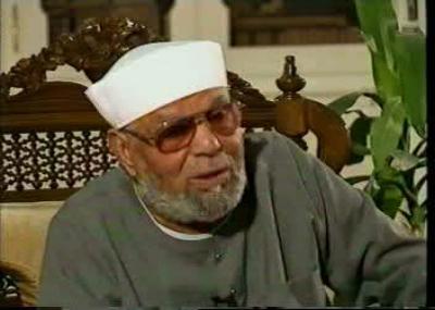 ولد العالم الديني المصري الشيخ محمد متولي الشعراوي