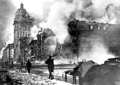 حدث زلزال سان فرانسيسكو 1906 المدمر