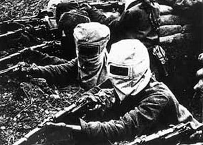 إستخدام الغازات السامة ضد الجيش الفرنسي من قبل الجيش الألماني