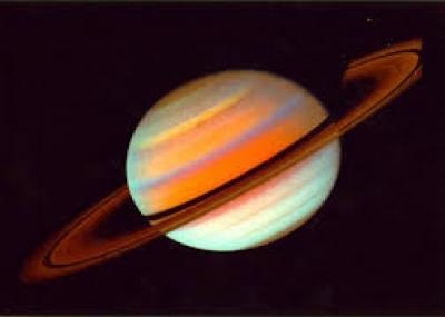 تم اكتشاف أكبر أقمار زحل تيتان