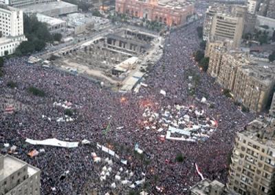 مظاهرات 30 يونيو التي اطاحت بمحمد مرسي