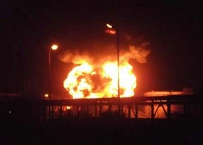 انفجار في مبنى مجلس الوزراء الإيراني في طهران